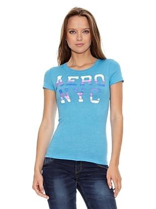 Aeropostale Camiseta NY (Azul)