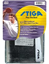 Stiga T0750 Performance Table Tennis Net & Posts