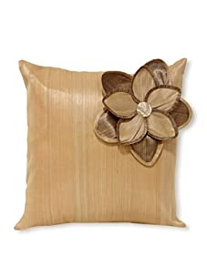 Palecek Single Daisy Pillow (Beige)