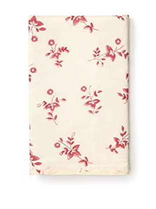Kerry Cassill Pillowcase (Cranberry Floral)