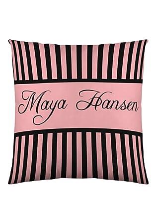 Maya Hansen Funda De Cojín Cakes 3 (Rosa / Negro)