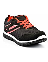 Provogue Black And Red Men Sports Shoes PV1057