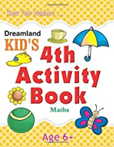 4th Activity Book - Maths (Kid's Activity Books)