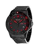 Gucci Classic Sport Black Ion-Plated Men'S Watch - Gcya126230