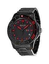 Gucci Classic Sport Black Ion-plated Men's Watch (YA126230)