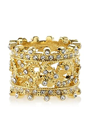 Kate Bissett Golden Filigree Eternity Band