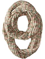 D&Y Women's Marled Loop with Metallic Yarn