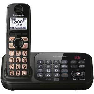 Panasonic KX-TG4741B DECT 6.0 1-Handset for Cordless Phone (Black)