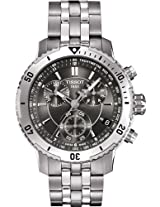 Tissot Silver Steel Chronograph Men Watch T067 417 11 051 00