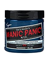 Manic Panic Semi-Permanent Color Cream Voodoo Blue