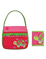 Stephen Joseph Quilted Turtle Purse And Wallet Combo Gifts For Girls