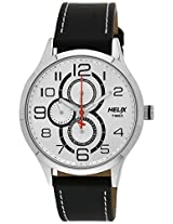 Helix Analogue Black Dial Men's Watch - TW003HG09