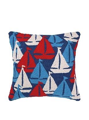 Peking Handicraft Sailboats Away Pillow