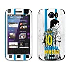 Bluegape Micromax Canvas 2 A110 Lionel Messi Football Player Phone Skin Cover, Bluegape