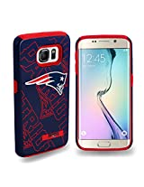 Forever Collectibles - Licensed NFL Cell Phone Case for Samsung Galaxy S6 Edge - Retail Packaging - New England Patriots