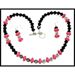 [N15M_004] Touch of Pink Necklace