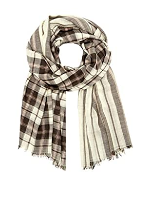 Marc by Marc Jacobs Tuch Woven Aimee Plaid Wool
