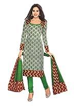JAVULI pure cotton salwar suit dress material : 217new