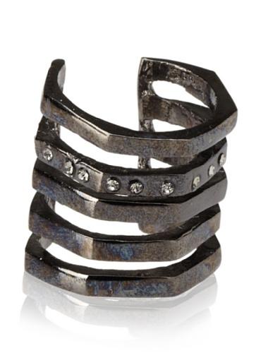 Paige Novick Gunmetal Charlotte Bling Ring