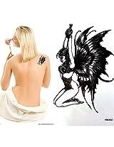 GGSELL King Horse Waterproof non-toxic devil angel temporary tattoo sticker
