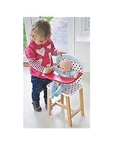 Indigo Jamm Wood Doll Hearts High Chair Kij10025
