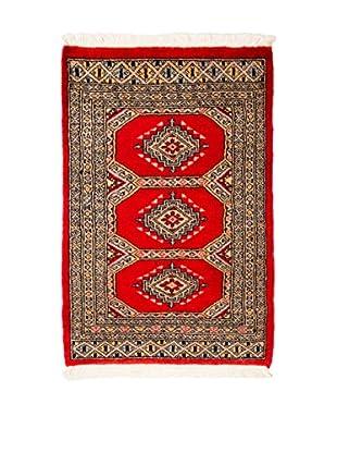RugSense Alfombra Kashmir Rojo/Multicolor 97 x 62 cm
