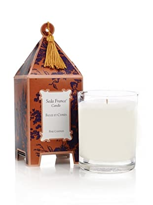 Seda France Figue et Cyprès Limited Edition Pagoda Box Candle, 10-Oz.