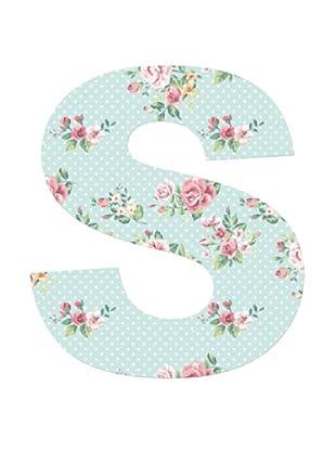 Letra Decorativa Letra S