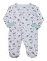 Baby Hug - My First Wish Print Front Open Romper