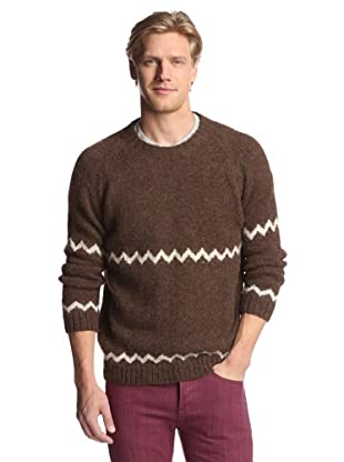 Industry of All Nations Men's Alpaca Novelty Sweater (Brown)