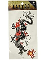 GGSELL King Horse Waterproof and sweat tattoo stickers male dragon totem