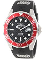 Invicta Analog Black Dial Men's Watch - 12561