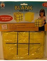 Blank Quiz Cubes