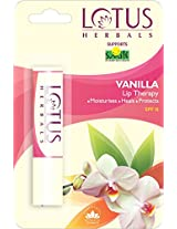 Lotus Herbals Lip Therapy Vanilla, 4g