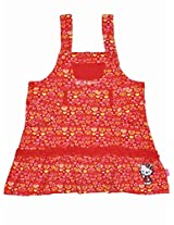Hello Kitty Girls Dress - Red (0 - 24 Months)