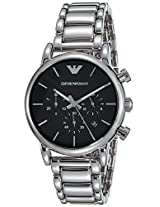 Emporio Armani Analog Black Dial Men's Watch - AR1853