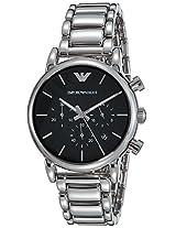 Emporio Armani Analog Black Dial Men's Watch - AR1853