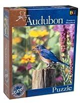 Buffalo Games Audubon: Eastern Bluebird 500 Piece Puzzle By Buffalo Games
