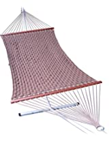 55'' Wide Soft weave quilted hammock - Dark Brown