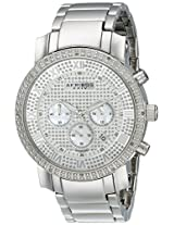 Akribos XXIV Men's Silver Stainless Steel Analogue Watch - AKR439SS