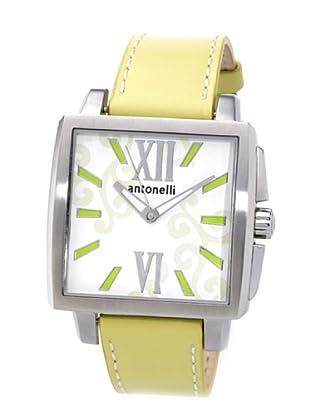 ANTONELLI 950035 - Reloj Unisex movimiento de cuarzo con correa de piel