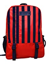 Tommy Hilfiger Back To School Polyester Red Children's Backpack(TH/BTS04020314/RED/BPK)