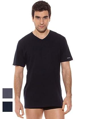 Kappa Camiseta mc Caballero Cuello Pico 100% Algodón (Surtido)