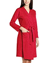 Enamor Women's Cotton Dressing Gowns and Kimonos