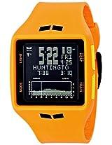 """Vestal Men's BRG021 """"Brig"""" Orange Digital Display Watch"""