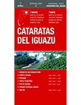 Cataratas del Iguazu / Iguazu Falls (Regional Map)