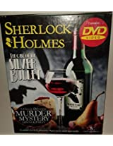 Sherlock Holmes the Case of the Silver Bullet DVD Murder Mystery Game