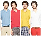 Polo T-Shirts Pack Of 4 sky,Red,yellow,White