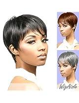 Bori (Motown Tress) Synthetic Full Wig In Jet Black