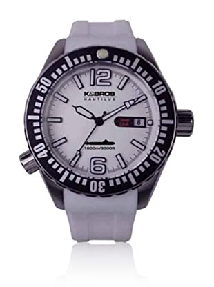 K&BROS Reloj 9901 (Blanco)